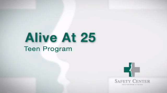 Screenshot for the Teen Safety - Alive at 25 video